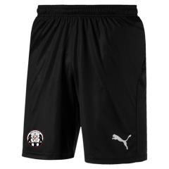 Liga WOVEN Shorts with OPEN side Pkts - Black/white